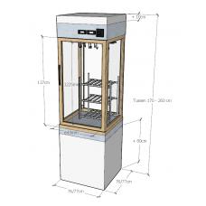 Шкаф для вызревания мяса Van Weel Koeltechniek DAC1DV