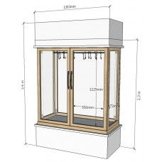 Шкаф для вызревания мяса Van Weel Koeltechniek DAC2DV
