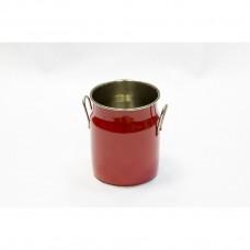 Бидон для сервировки и подачи снеков, красный, d-7,5 см