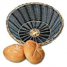 Хлебница плетённая круглая, 20 см, глубина 13 см