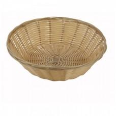 Хлебница плетённая круглая 23 см,глубина 7,5см
