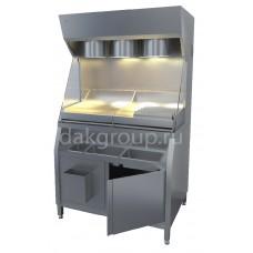 Станция фасовочная для картофеля-фри СФ 1010*720*1835