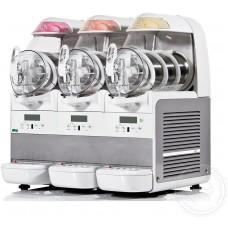 Фризер Bras B-Cream 3 для мороженого, слаша, 3 ванны 6 л
